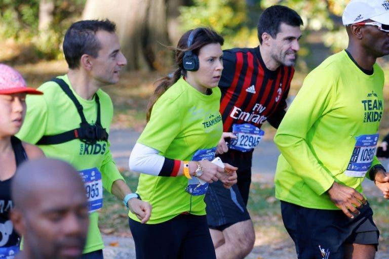 Bartoli corre Maratona de Nova Iorque quatro meses depois de internamento
