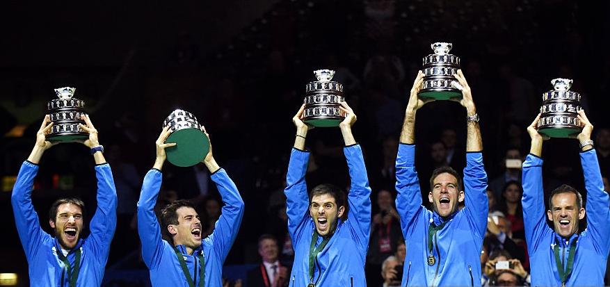 Argentina é o 18.º vencedor diferente da Taça Davis. Espreite todo o palmarés