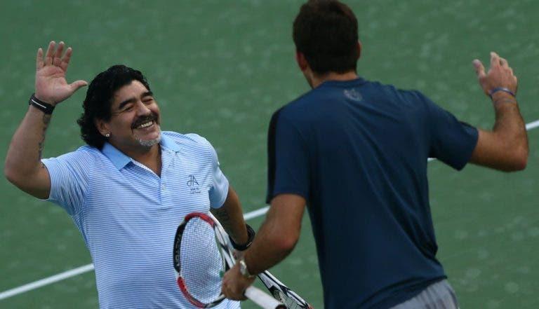 [Atualização] Adeus Maradona. Tenistas despedem-se do D10S argentino