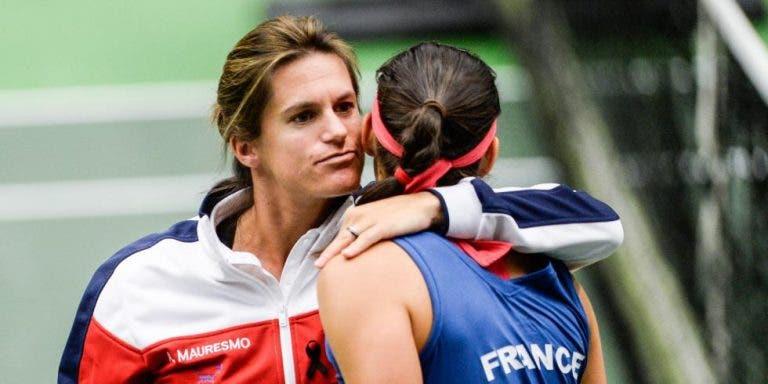 Mauresmo quer finais femininas de cinco sets nos Grand Slams