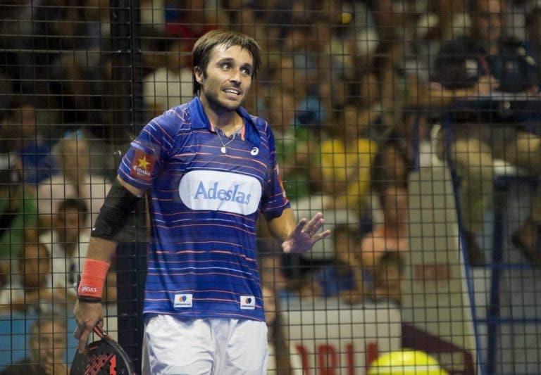 Fernando Belasteguin lesionado falha WPT Saragoça