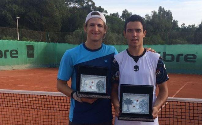 Gonçalo Oliveira conquista segundo título de pares consecutivo na Tunísia