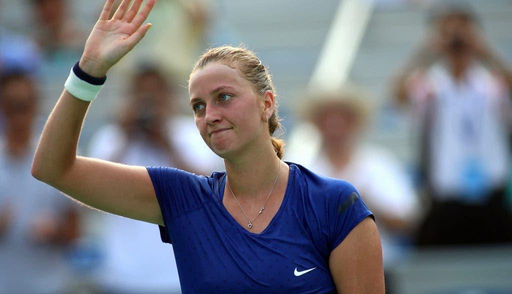 BOAS NOTÍCIAS. Kvitova mantém a esperança de jogar… já em Roland Garros
