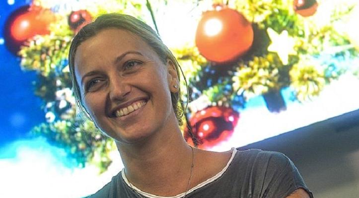 Já em casa, Kvitova deixa mensagem emocionada aos fãs