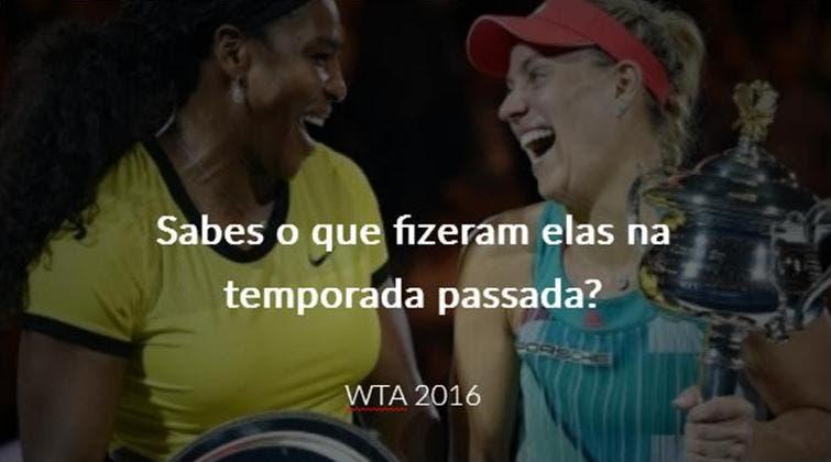 Faça o teste e prove que é um(a) expert em assuntos WTA