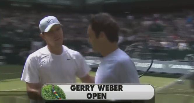 [Vídeo] Sabe o que aconteceu na última vez que Mischa Zverev e Roger Federer se defrontaram?