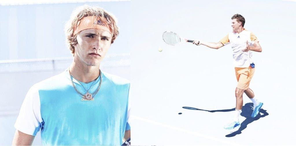 [Fotos] É assim que os amigos Thiem e Zverev vão vestidos para o Australian Open