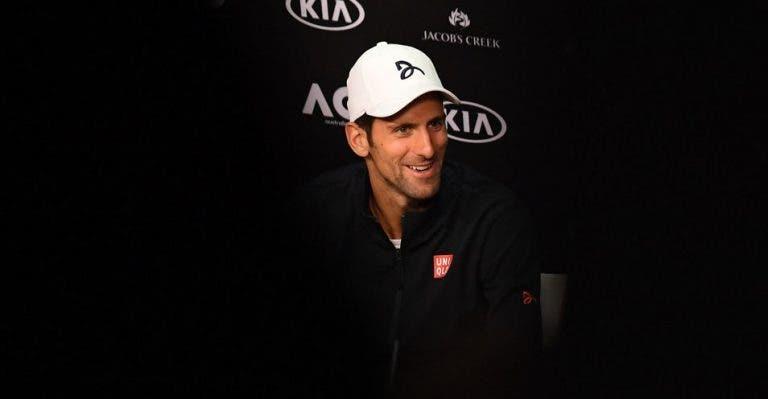 Djokovic diz que a Rod Laver Arena não está tão má como Verdasco a pinta