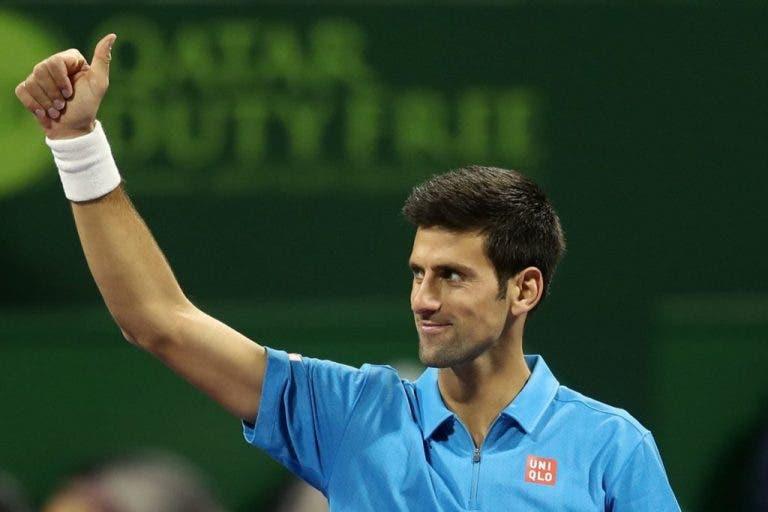 Efeito Djokovic: Bilhetes no México chegam aos 6 mil euros