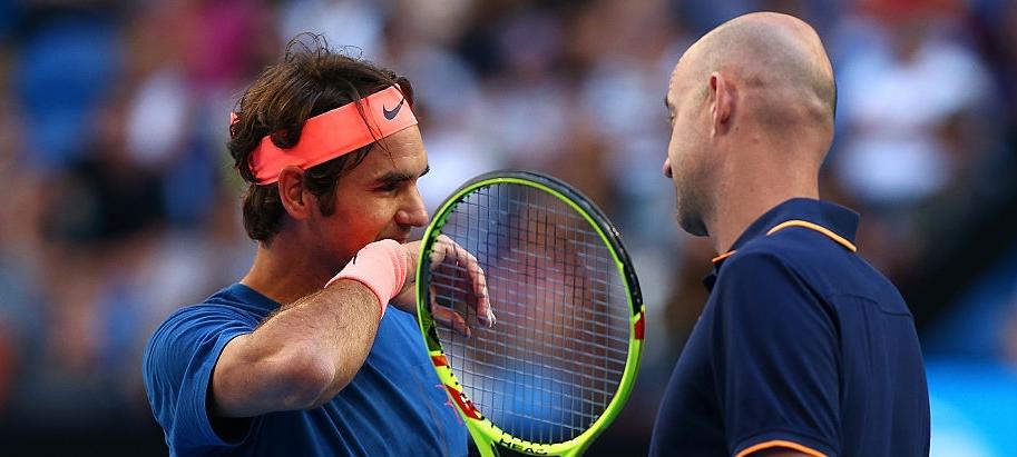 Federer: «Tive de acalmar o Ljubicic. Ele estava mais nervoso do que eu»