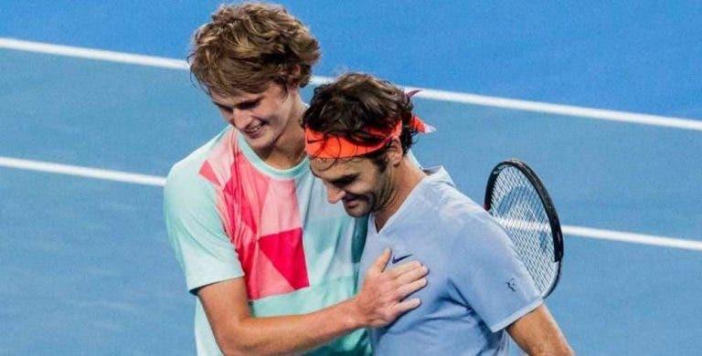 Alexander Zverev: «O meu ídolo no ténis sempre foi Federer»