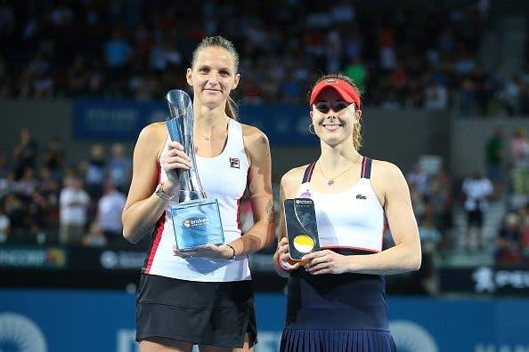Karolina Pliskova entra em 2017 com sétimo título da carreira