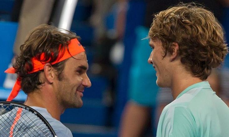 [Vídeo] Federer aconselha Zverev a pedir um challenge… e ele acerta!
