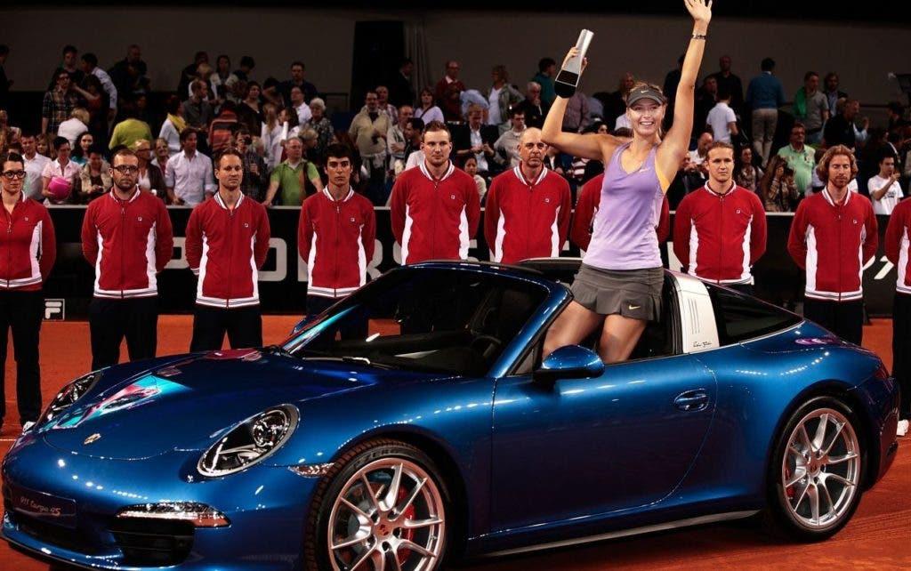Torneio de Estugarda vai marcar o regresso de Sharapova