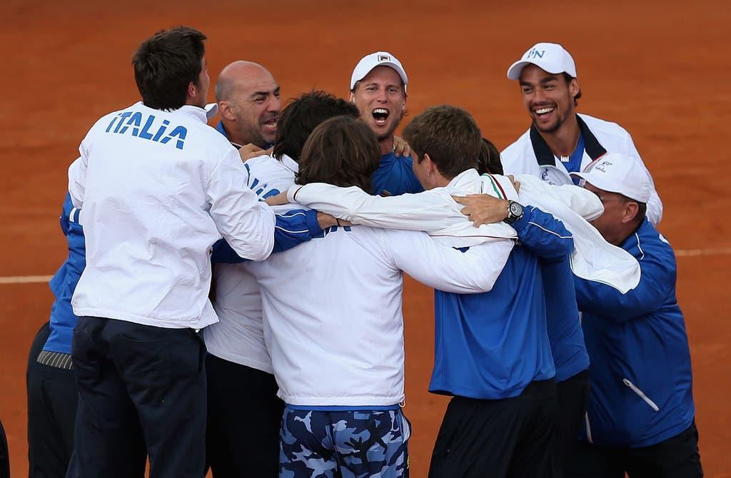 Bilhetes para ver o Argentina x Itália na Taça Davis chegaram aos 227 euros