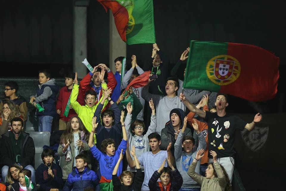 A 'Ultra Davis' está de volta: esta jovem claque vai ao Jamor apoiar Portugal