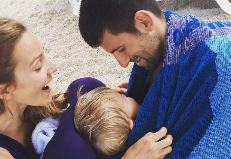 Império Djokovic vai receber mais um herdeiro