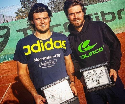 João Monteiro e Felipe Cunha e Silva sagram-se campeões de pares na Tunísia