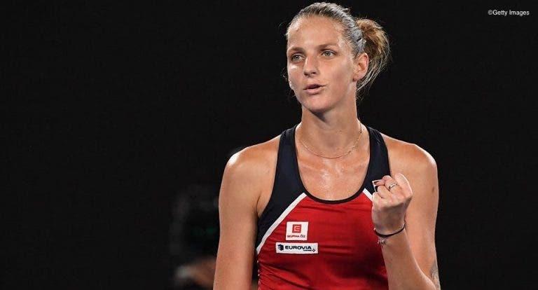 Karolina Pliskova agradece «a quem acreditou e a quem duvidou» na sua chegada ao topo do ranking