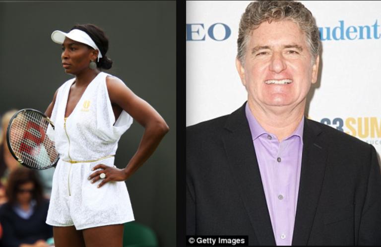 Comentador da ESPN que insultou Venus Williams sofre ataque cardíaco – e os médicos culpam a jogadora