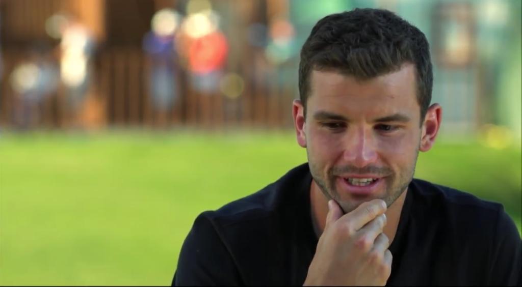 [VÍDEO] Grigor Dimitrov foi entrevistado por Sloane Stephens… e fala da sua (falta de) barba