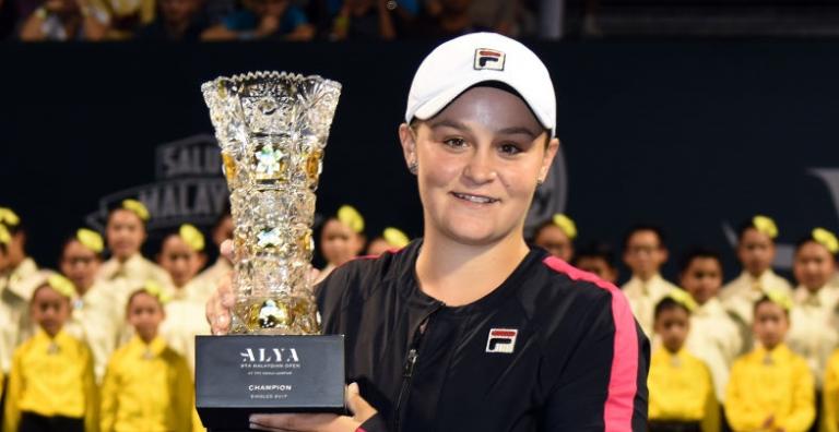 Do críquete aos títulos WTA em menos de um ano: Ash Barty é campeã em Kuala Lumpur