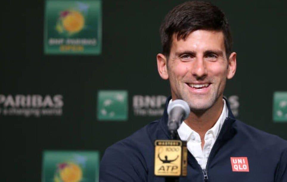 Djokovic: «Dou tanto valor aos Masters 1000 como dou aos Grand Slams»