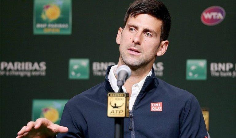 OFICIAL. Novak Djokovic vai abandonar o top-10 pela primeira vez em dez anos e meio