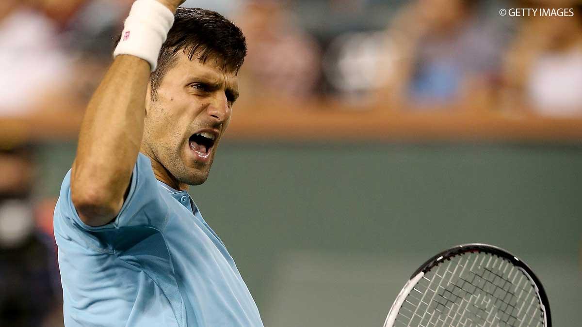 Djokovic quebra recorde de Federer em Indian Wells