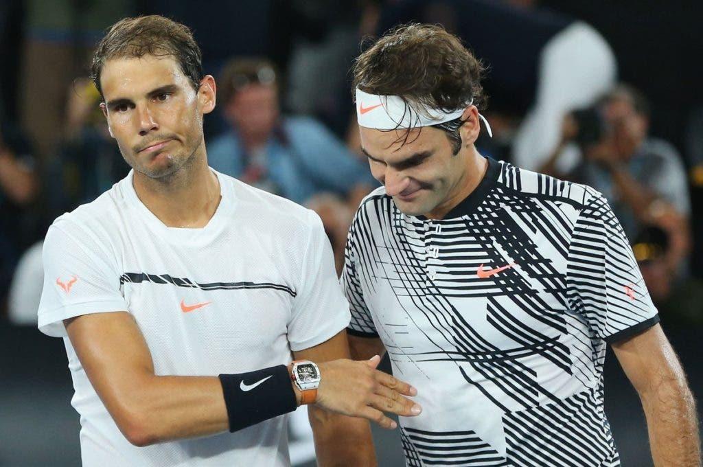 Nadal e o calendário reduzido de Federer em 2017: «É um grande risco»