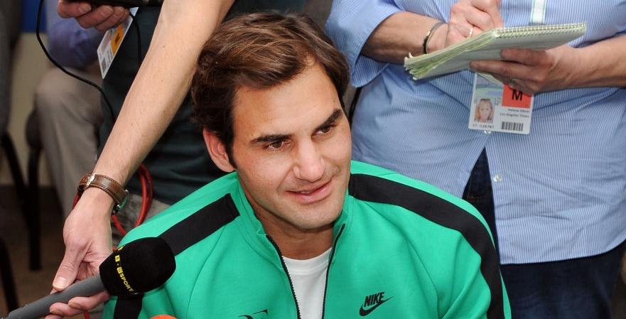 Federer: «Vim a Indian Wells para jogar contra tipos como o Rafa»