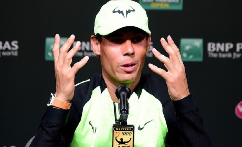 Rafael Nadal: «Não podemos mudar mais torneios para piso rápido»