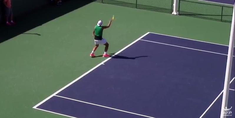[Vídeo] Acompanhe os treinos de Nadal, Thiem, Federer, Djokovic, Del Potro e Pouille, em DIRETO