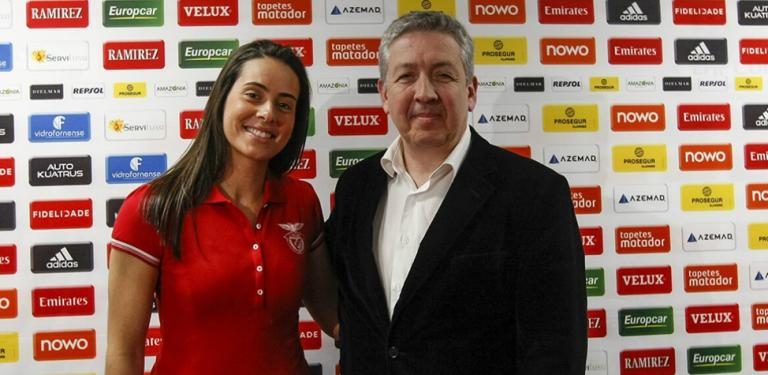 Benfica 'contrata' a número um nacional de Padel, Sofia Araújo: «É um sonho»