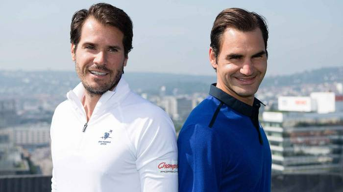 Haas: «O que se pode dizer do Federer? É incrível»
