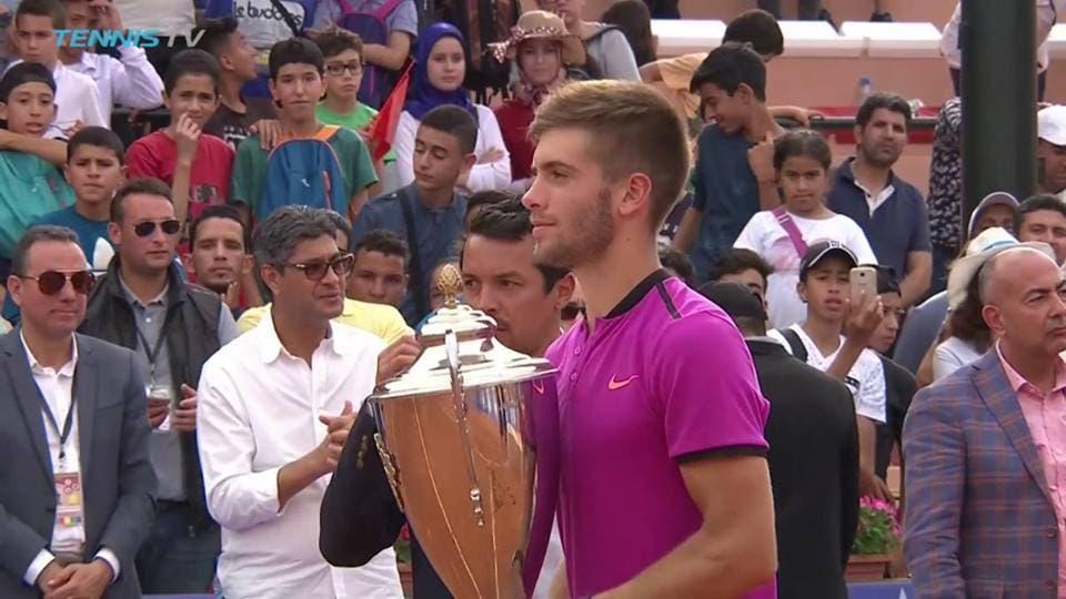 Borna Coric salva cinco match points e conquista o primeiro título da carreira em Marraquexe