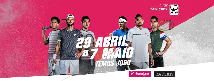 [JÁ TEMOS VENCEDORES!] Ganhe bilhetes duplos para o Millennium Estoril Open!