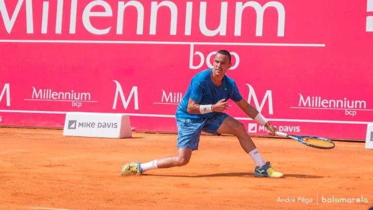 Lisboa Belém Open. Gonçalo Oliveira salva MATCH POINT e alcança a primeira vitória da CARREIRA em Challengers