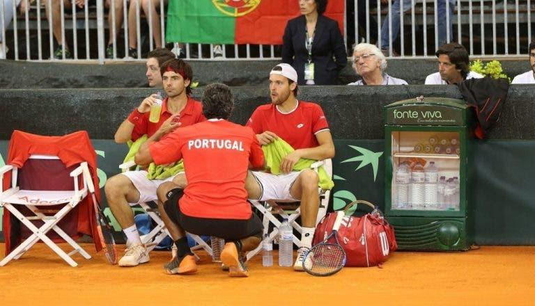 SUÉCIA-PORTUGAL, 2-1. Sousa e Elias perdem o par e Portugal fica em desvantagem na eliminatória