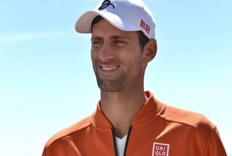 Fundador da Uniqlo escreve carta emocionante a Novak Djokovic