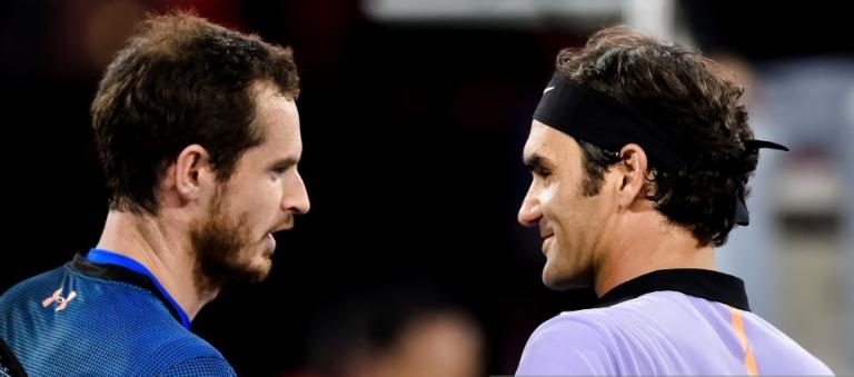 Federer responde ao tweet de Murray: «É preciso amar o ténis»