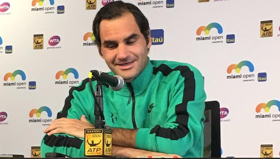 Federer: «Número um não é objetivo, teria de jogar incrivelmente bem em todos os grandes torneios»