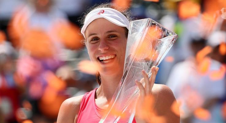 Konta é campeã em Miami e Wozniacki continua sem saber ganhar finais em 2017