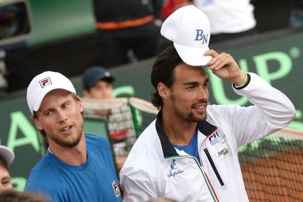 Seppi sobre o seu compatriota Fognini: «Ele tem lesões no pulso, no pé… e no cérebro»