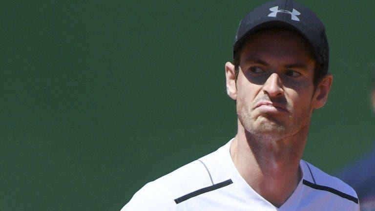 Murray também foi questionado se desejou boa sorte a Genie Bouchard