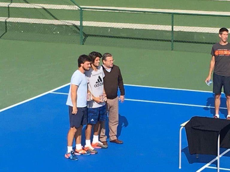João Monteiro e Felipe Cunha e Silva vencem torneio de pares do Lisboa Racket Center