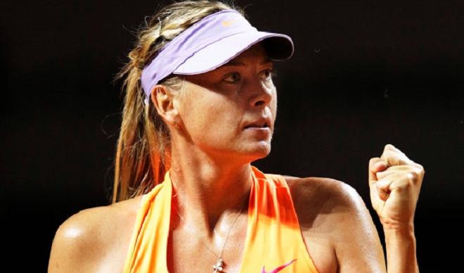 Horas depois de perder em Madrid, Sharapova recebeu uma boa notícia: mais um wild card