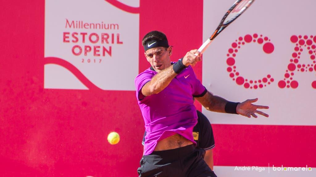 Del Potro é hipótese para o Estoril Open. Djokovic, Nishikori e Wawrinka também