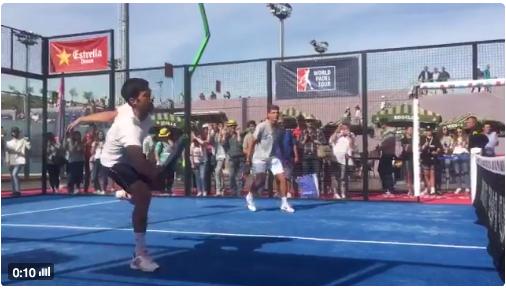 [VÍDEO] Novak Djokovic troca o ténis pelo padel… mas só por uns momentos