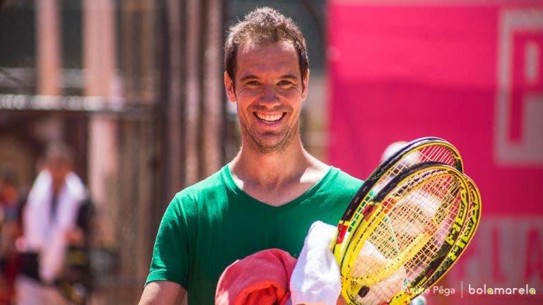 Melhor pancada do circuito? «Direita do Federer, sem dúvida»